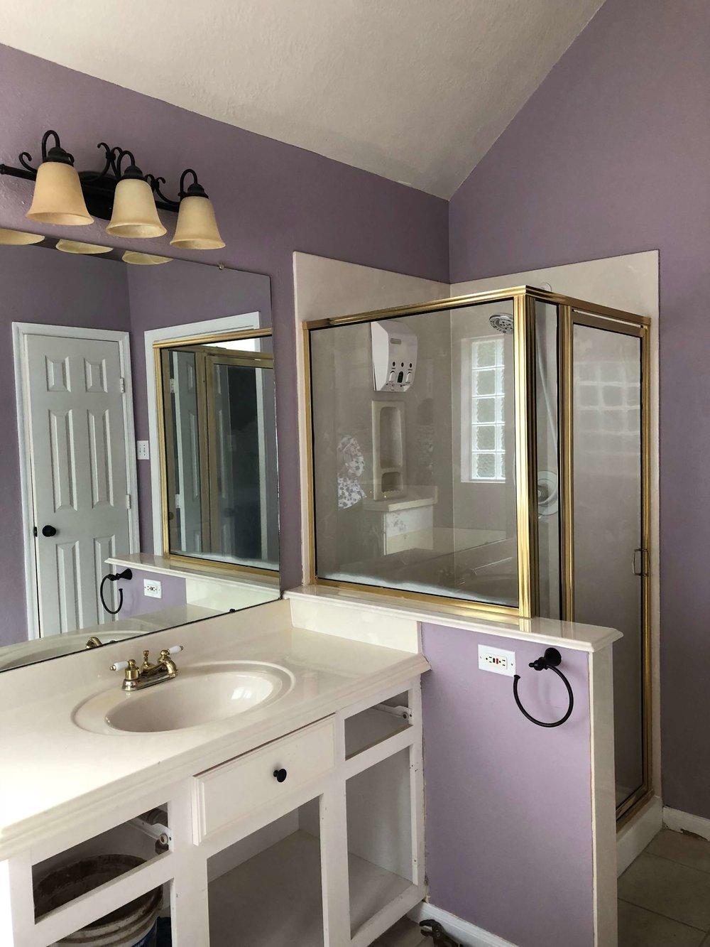 BEFORE - Bathroom Remodel
