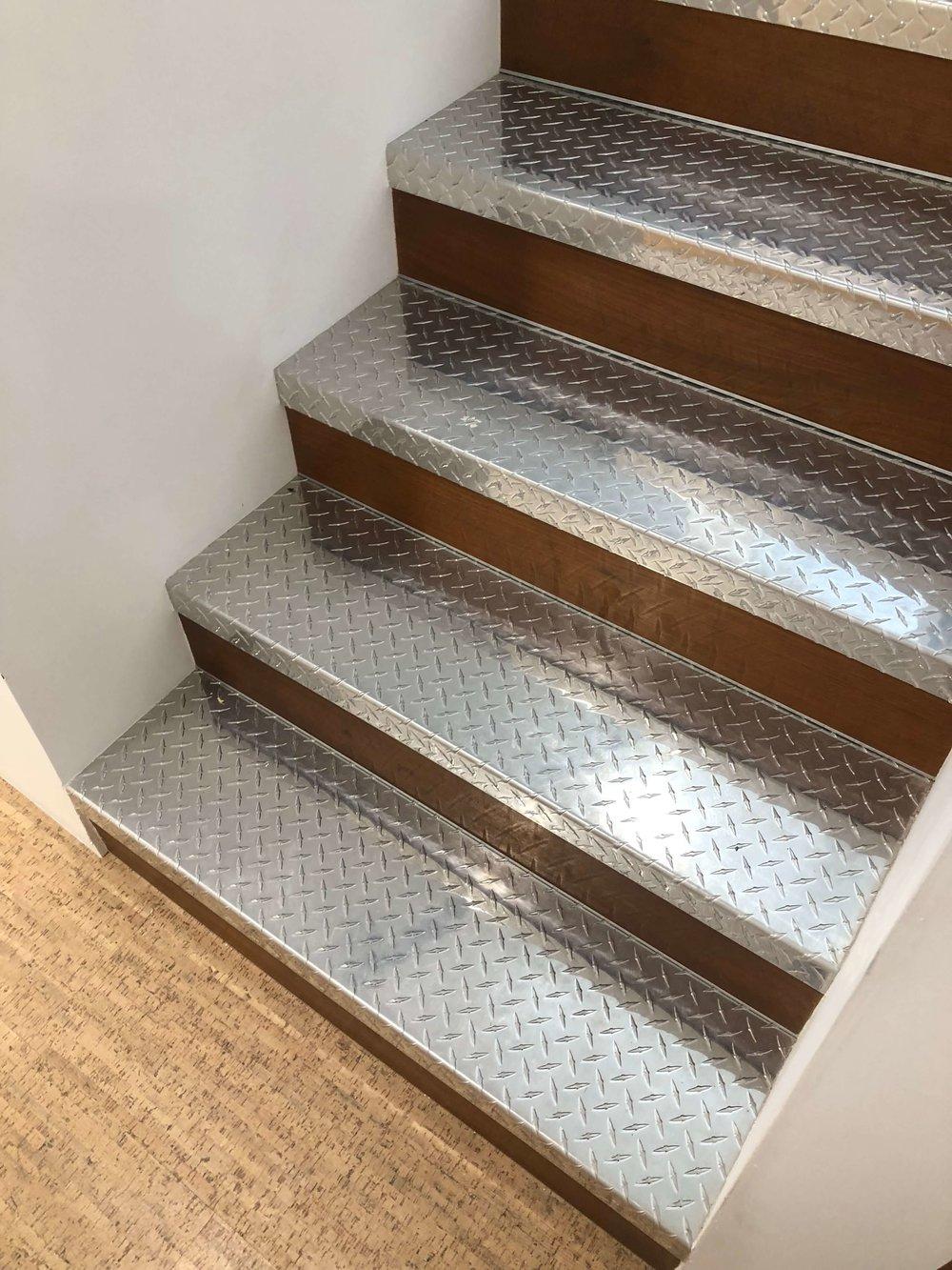 California contemporary design - Dwell on Design's Fall Home Tour, Designer: Vitus Mitare #contemporaryarchitecture #stairs #corkfloor