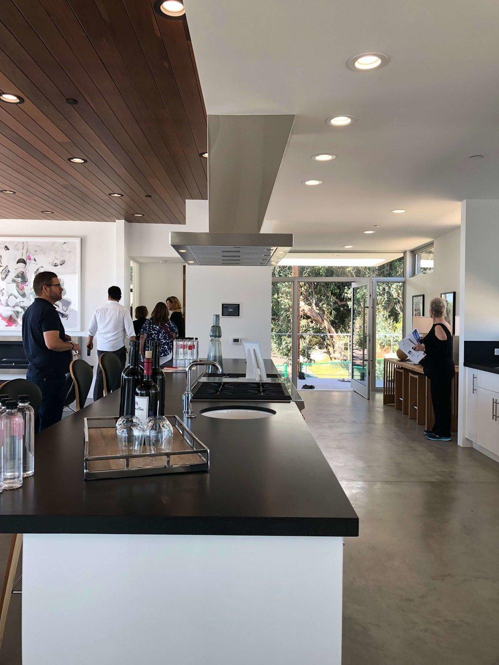 California contemporary design - Dwell on Design's Fall Home Tour, Designer: Vitus Mitare #contemporaryarchitecture #kitchenisland