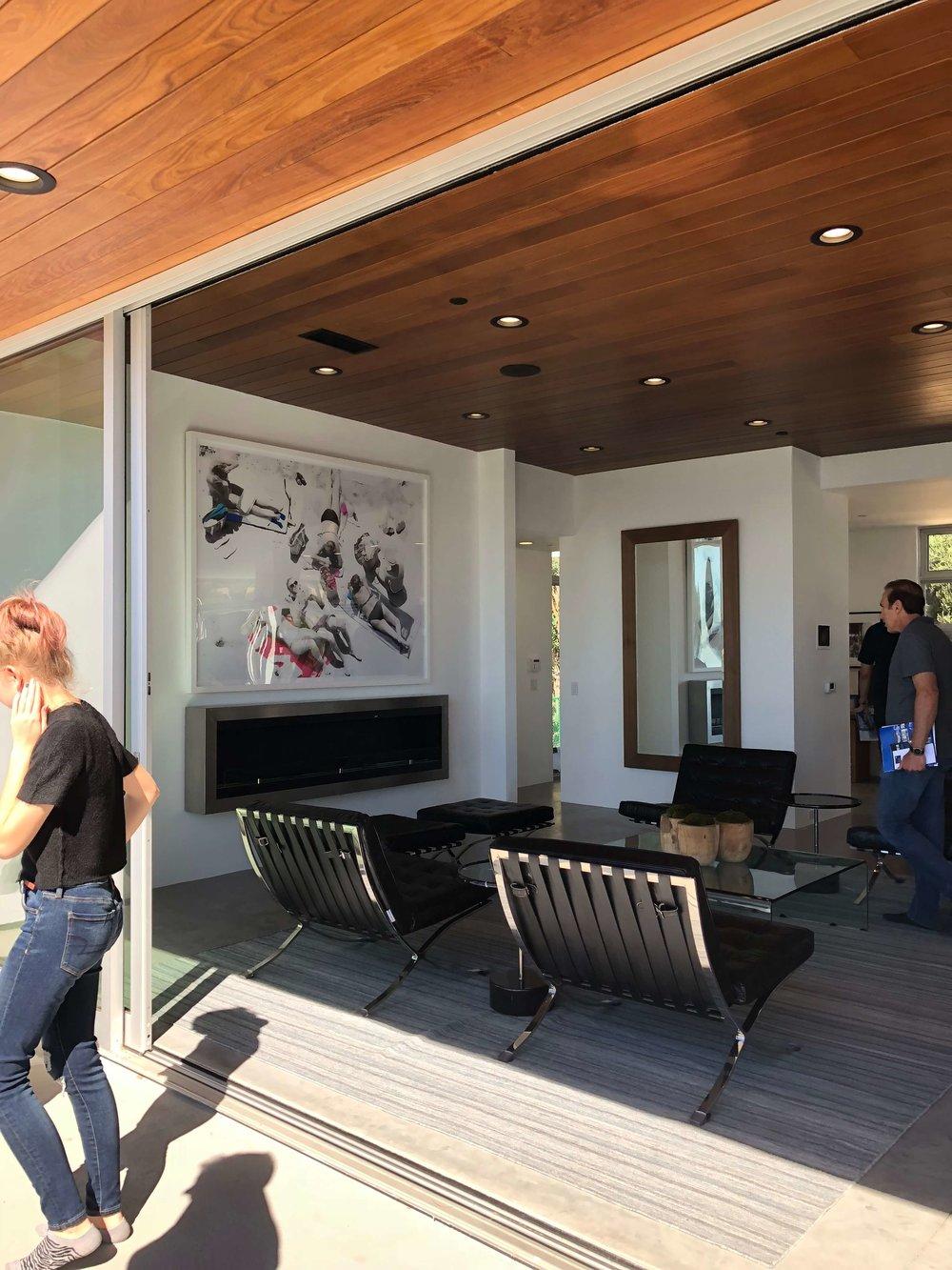 Dwell on Design Malibu Home Tours | Architectural Designer: Vitus Matare #contemporaryarchitecture #slidingglassdoor
