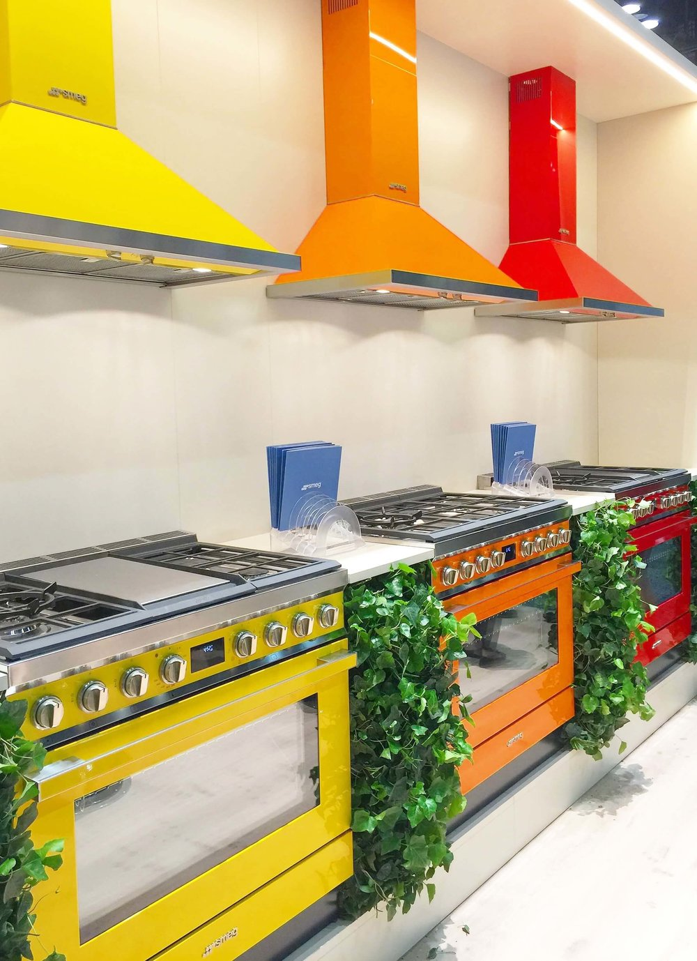 Colorful Smeg appliances - KBIS, Kitchen and Bath Industry Show