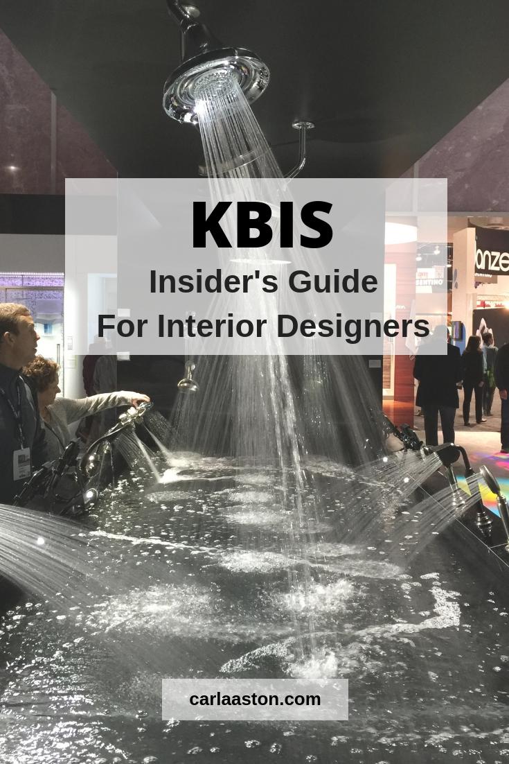 Interior Designer's Insider's Guide To KBIS