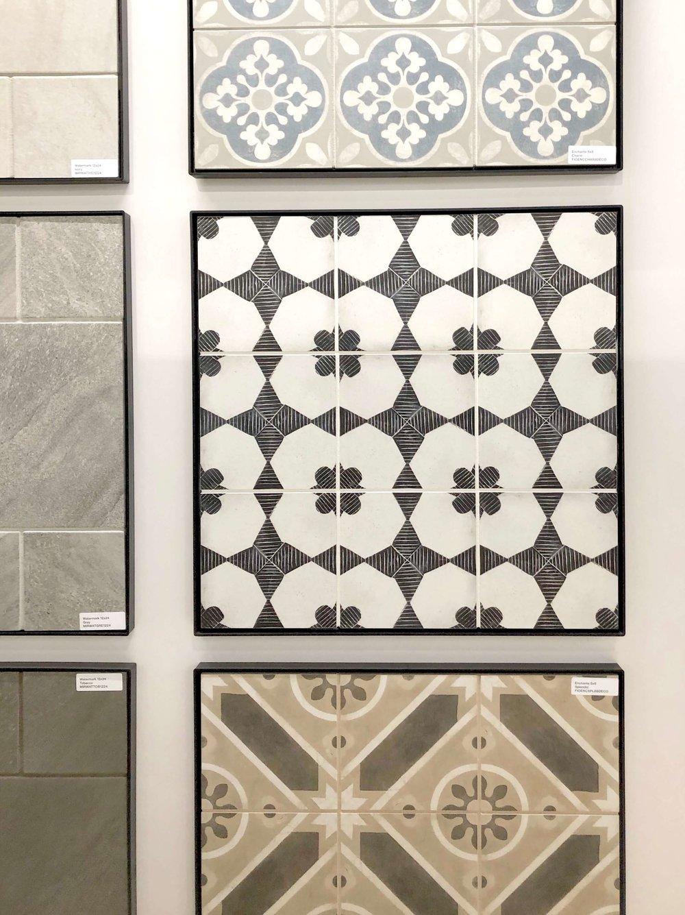 Porcelain cement-look tiles | KBIS 2019 Surfaces Trends