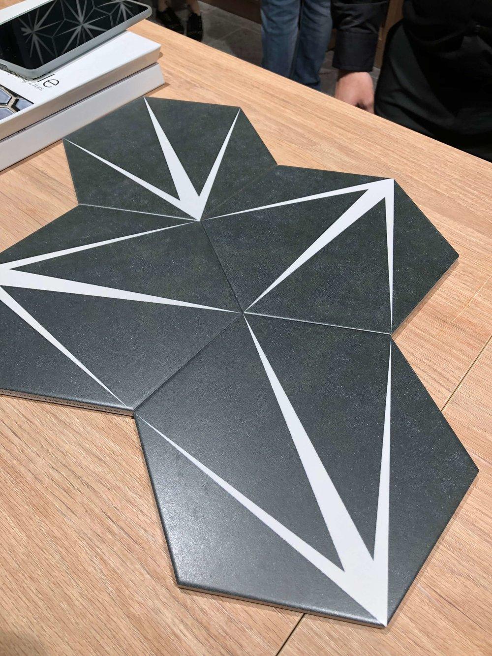 Porcelain cement look tiles | KBIS 2019 Surfaces Trends