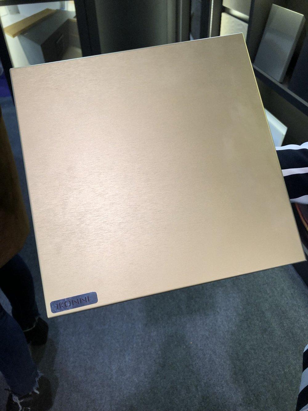 Brushed brass cabinet door | KBIS 2019 Surfaces Trends
