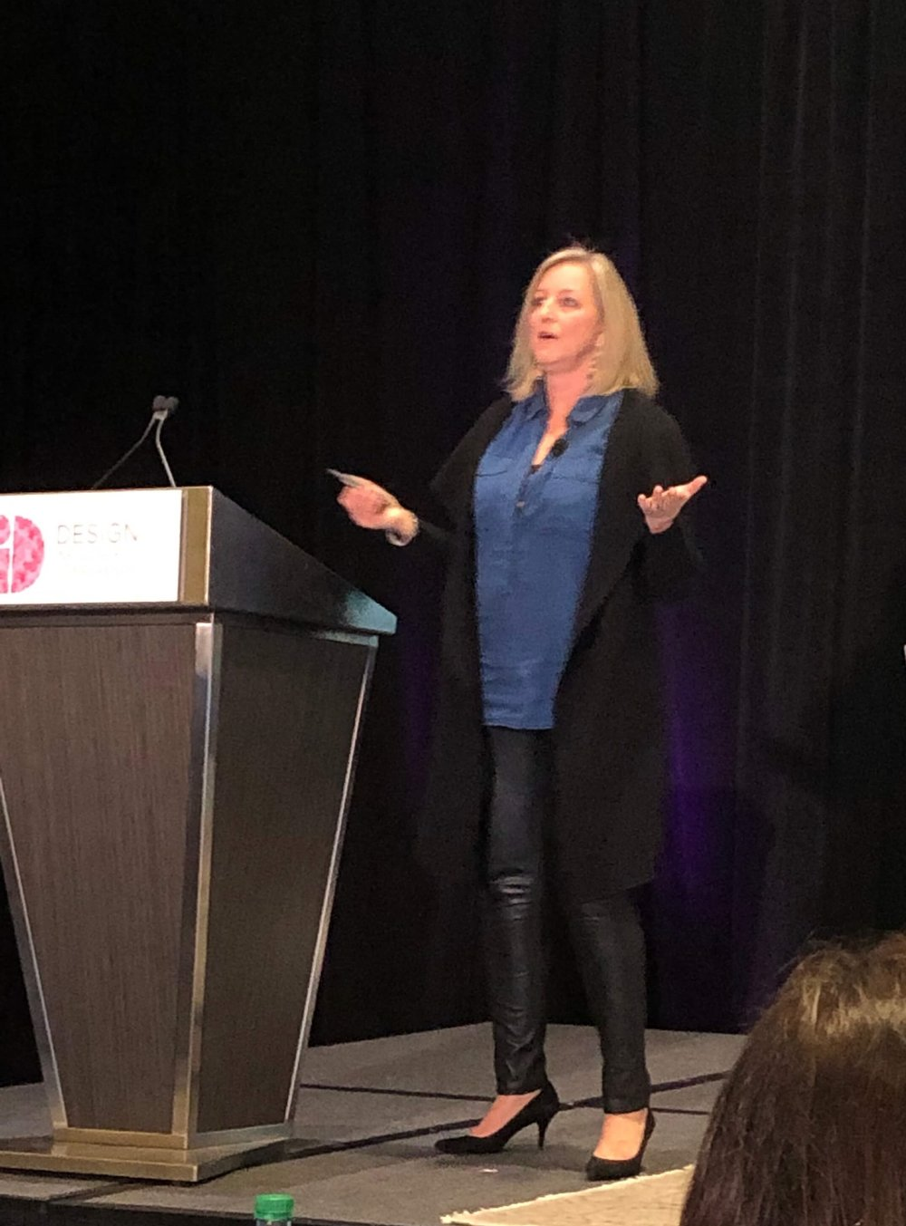 Speaker Deborah von Donop at Design Influencer's Conference 2019