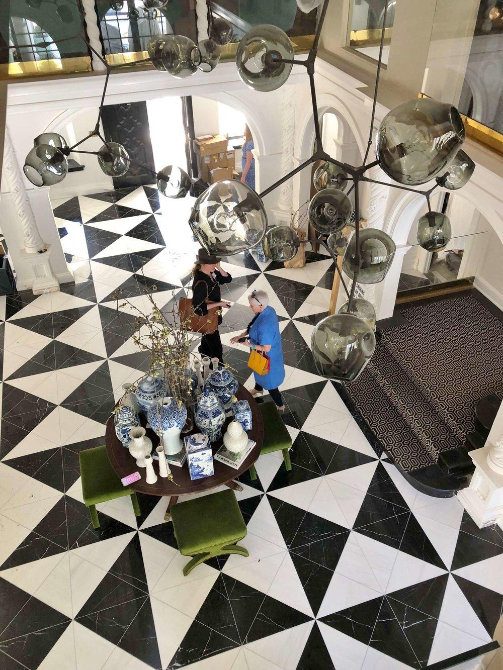 Entry Hall - Pasadena Showcase House of Design, Amy Peltier, Designer