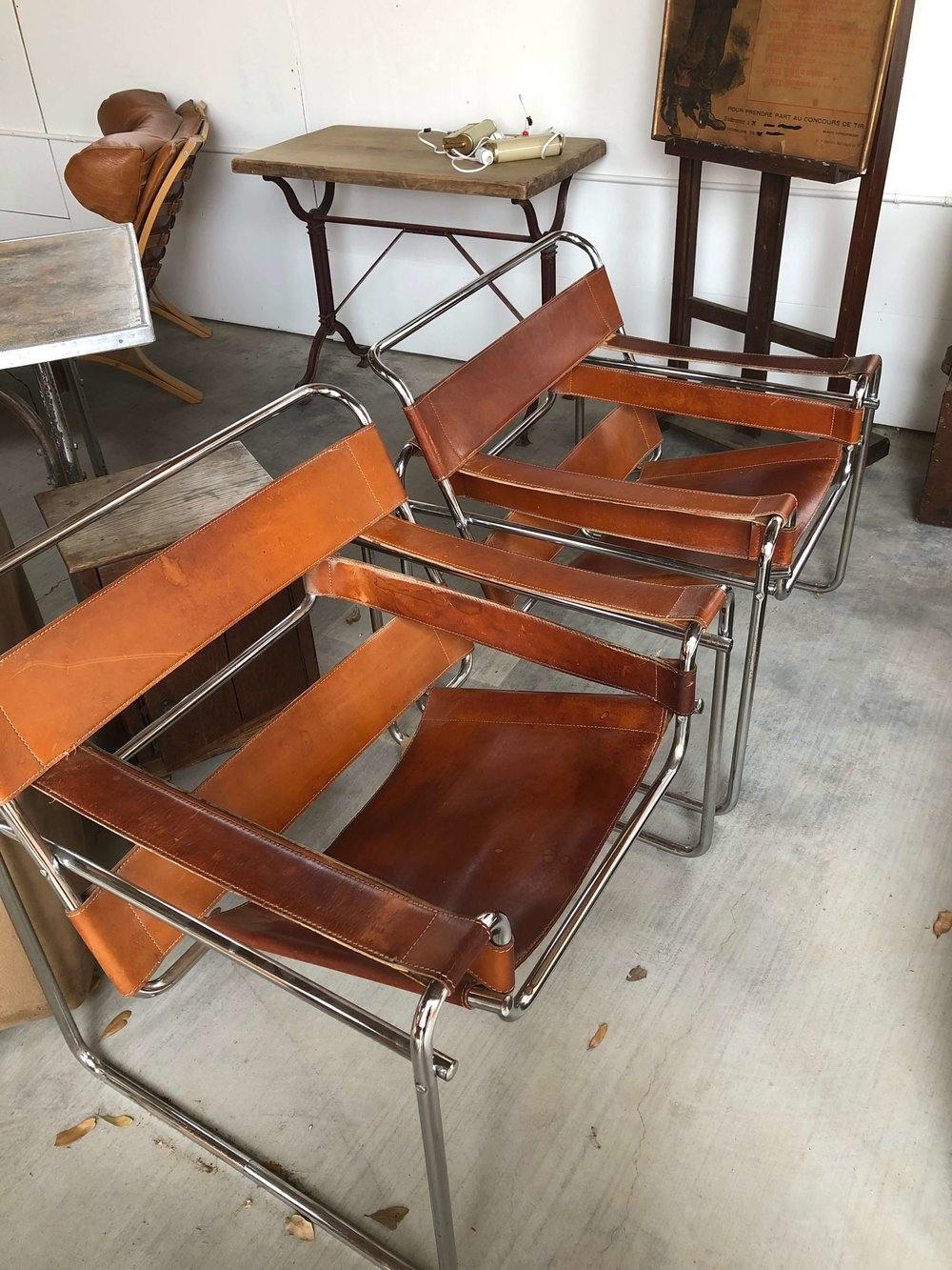 Vintage Wassily chairs | Eneby Home, The Compound, Round Top Antiques Fair