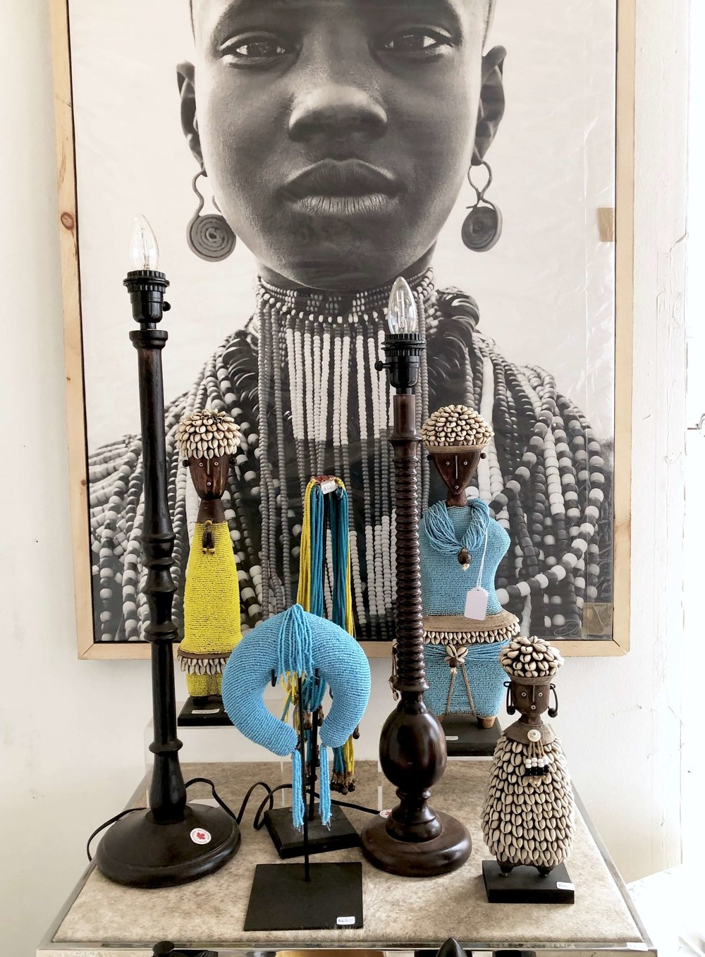 African decorative objects | Blue Hills, Round Top Antiques Fair