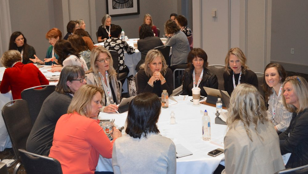 Mentoring Round Tables At Design Influencer's Conference