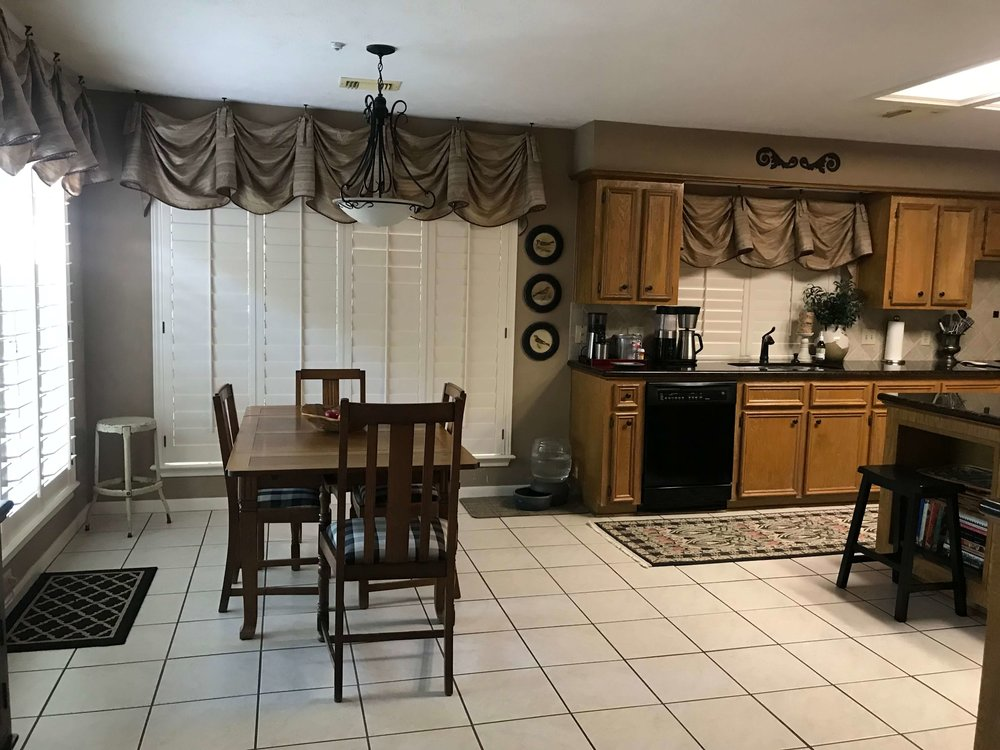 BEFORE - Kitchen to be remodeled