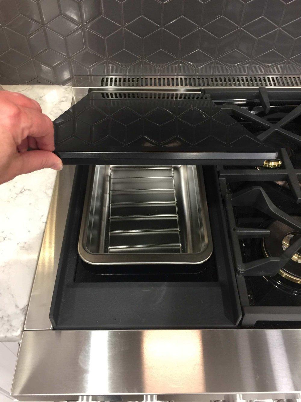 Signature Kitchen Suite Appliances booth at KBIS #appliances #sousvide