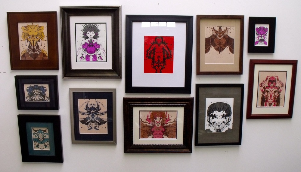 N ew small works framed and ready to go!