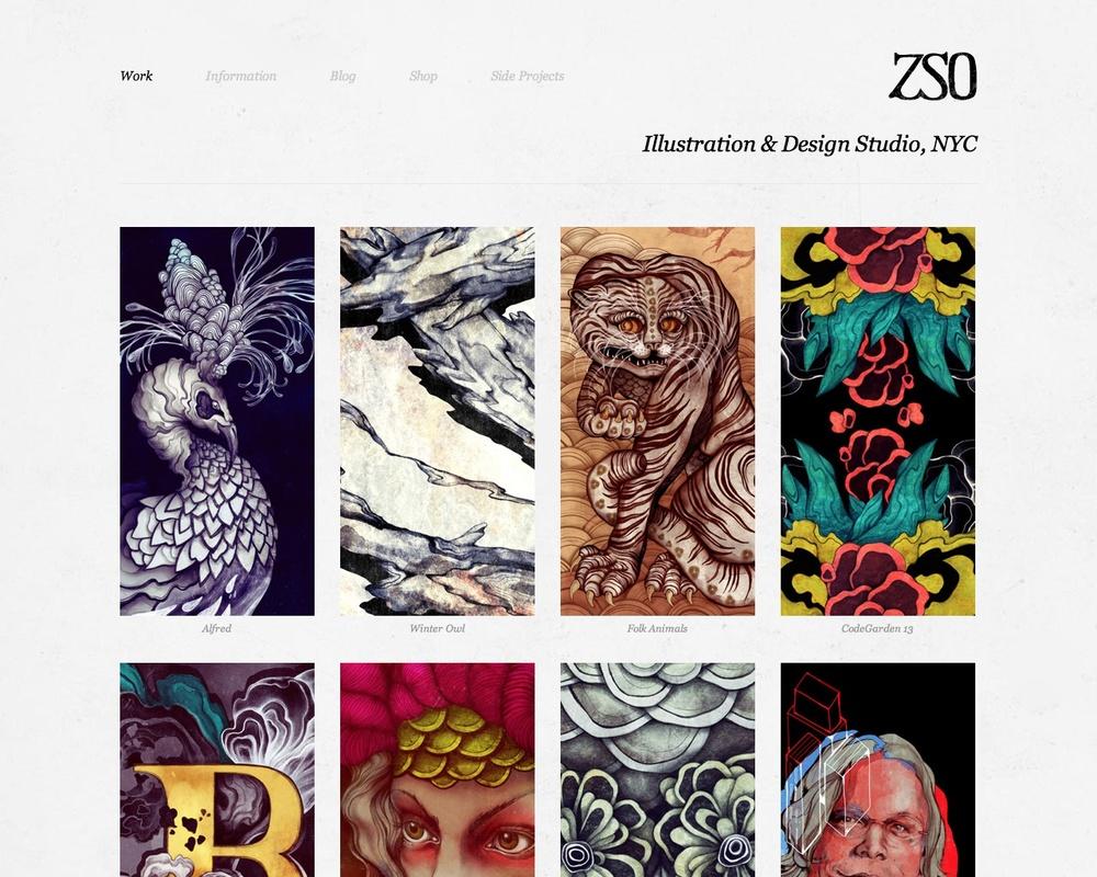 Avenue Portfolio Website Screenshot