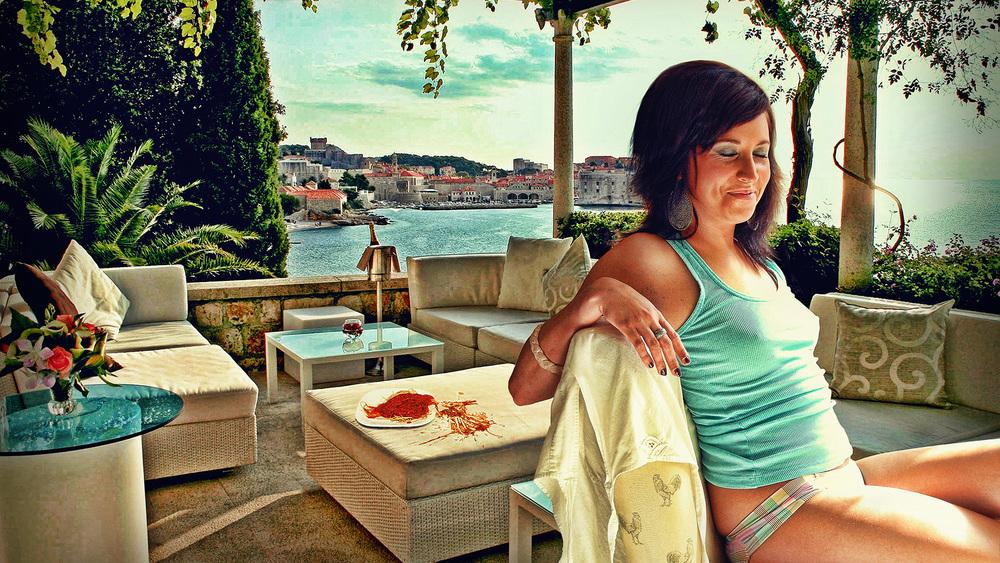 Lacey At open Air Greek Restaurant.jpg