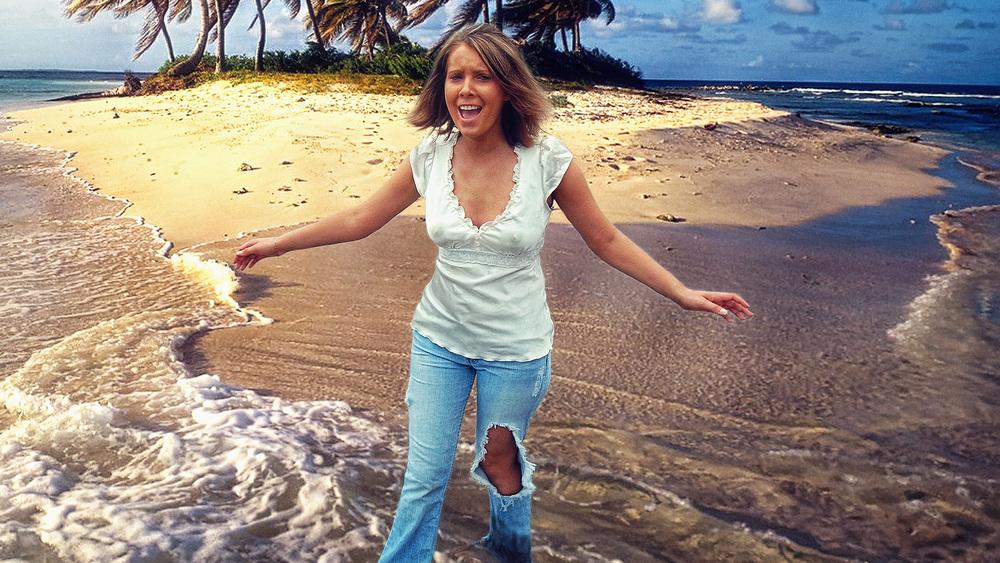 Marissa On Beach In Jeans.jpg