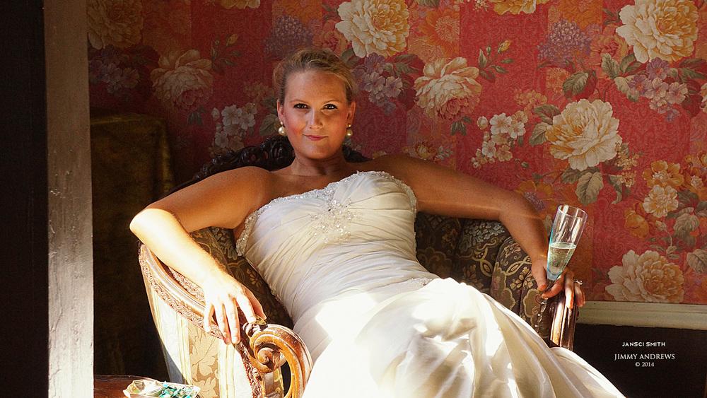 Jansci Sitting In Chair Wearing Wedding Dress.jpg