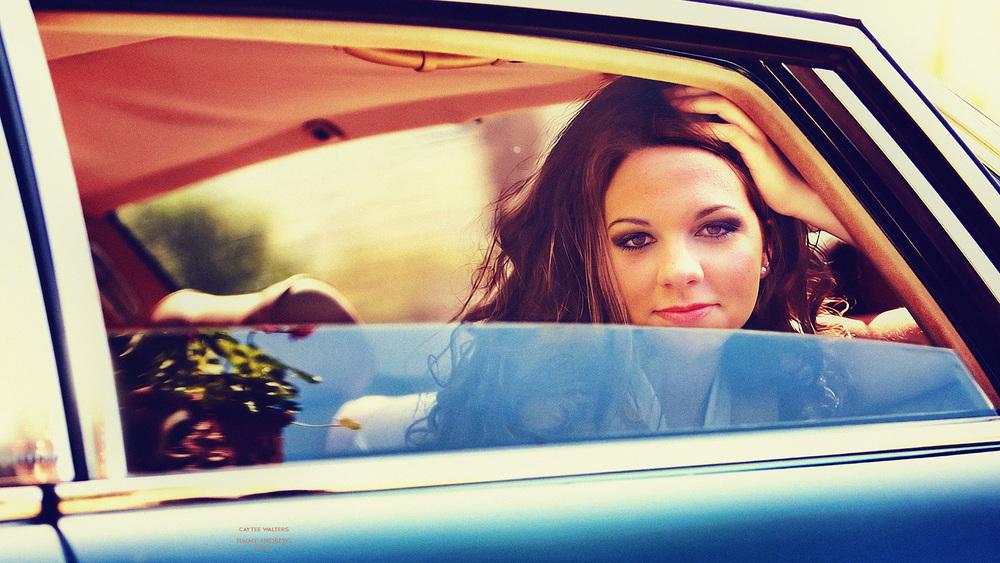 Caytee Walters In Backseat
