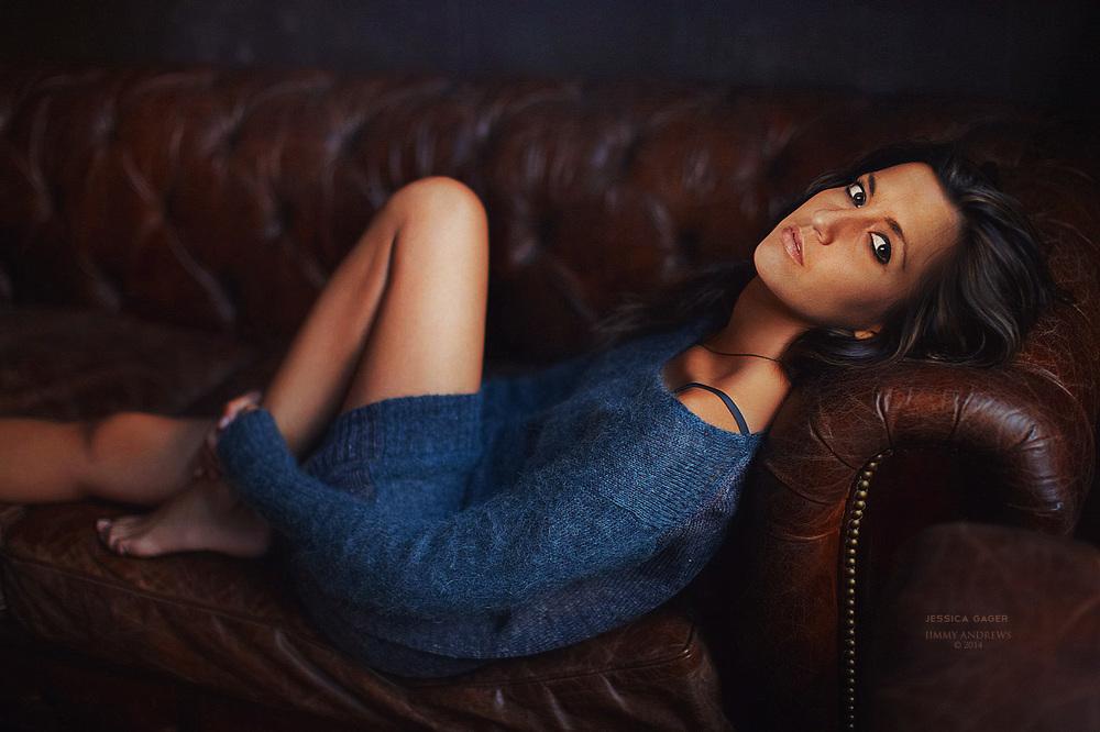 Jessica's Blue Sweater