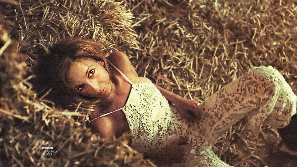 Jessica Gager Rolling In The Hay