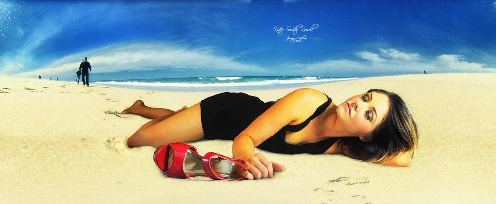 Katie Sunbathing On Beach.jpg
