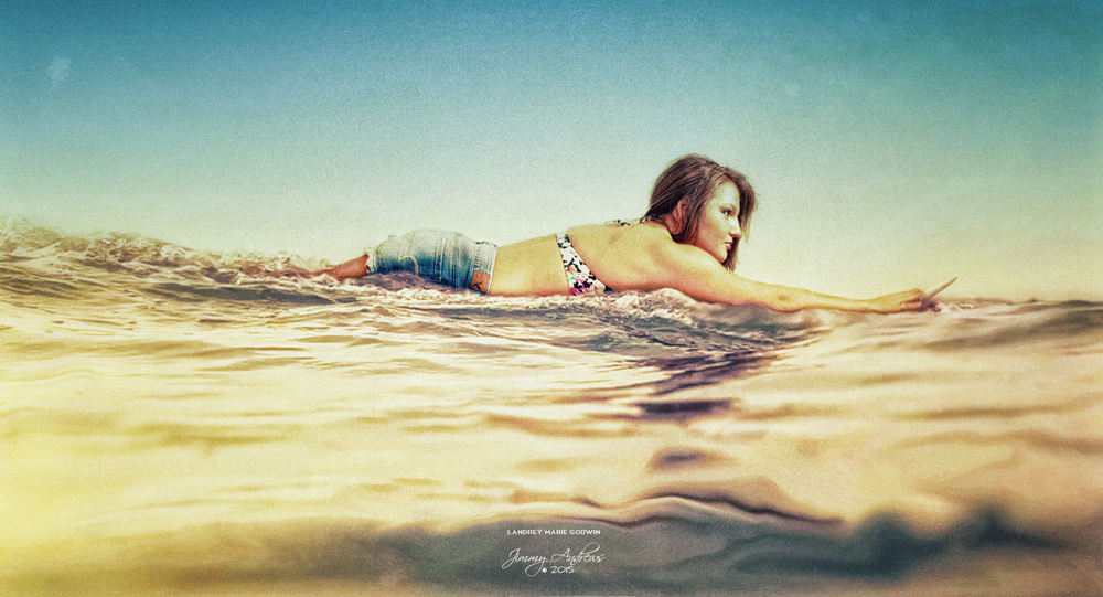 Landrey Godwin Surfing