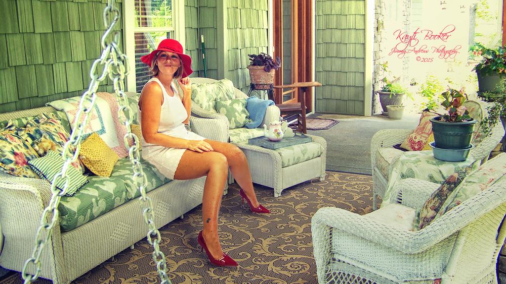 Kayti's Red Hat