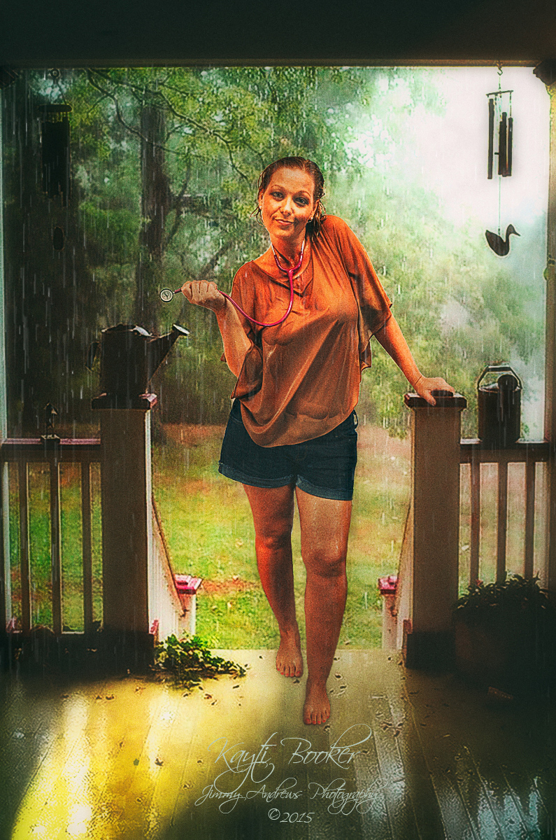 Kayti Making A House Call In Rain