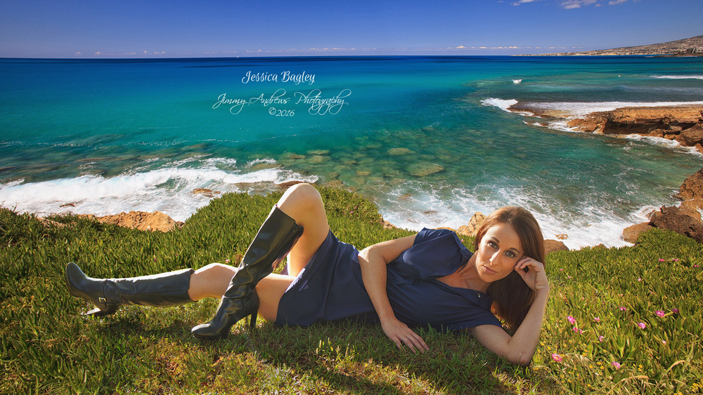 Jessica Bagley On The Cliffs