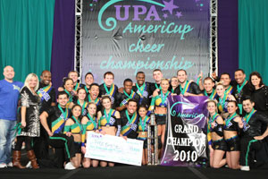 2010 International / Open Cheer Grand Champs  Pace Empire - California