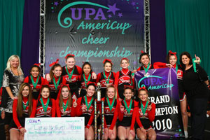 2010 Junior Varsity Cheer Grand Champs  Lakeville North High School JV - Minnesota