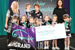 2010 Tiny Cheer Grand Champs  Twisters Elite Breeze - Illinois
