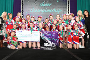 2010 Youth Cheer Grand Champs  Dakota Spirit Blaze - South Dakota