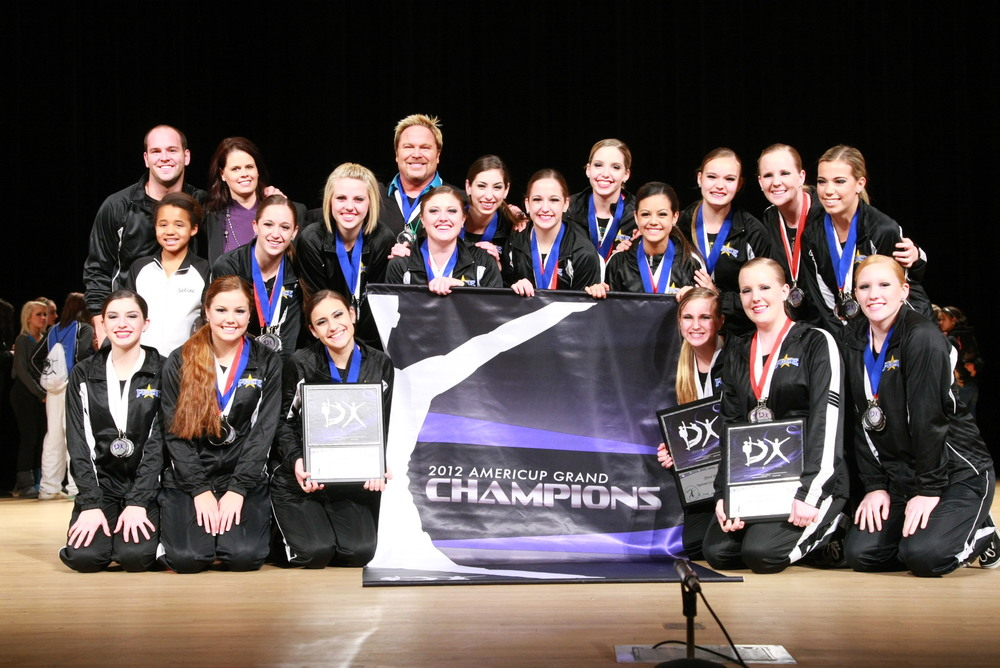 2012 AmeriCup Collegiate Dance Grand Champions  OOC - Orange Coast College, California