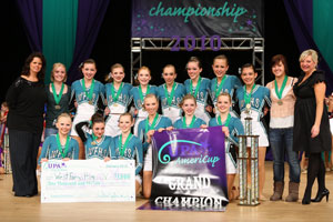 2010 AmeriCup Junior Varsity Grand Champions West Fargo Junior Varsity, North Dakota