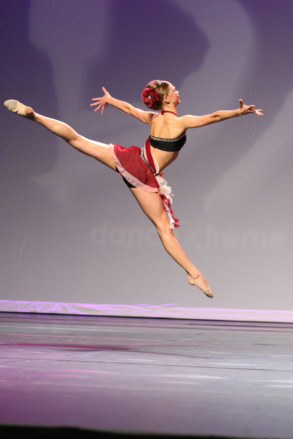 2012 - Anna Fossum from Center Stage Dance Studio