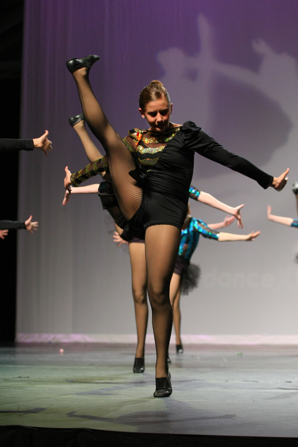 "2012 - ""Girl Power"" from Center Stage Dance Studio"