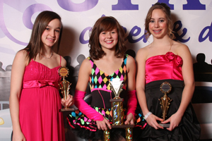 2010 Middle School All American  ALISSA KUHN    Dynamic Cheer & Dance, South Dakota    2  Rebeca Lien|Dynamic Cheer & Dance, SD  3  Anna Cypher|Twisters Elite, IL