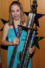 2009 Middle School All American  REBECCA LIEN    Dance Expressions, South Dakota    2  Aliyah Hudson|Champion, SD  3  Anna Cypher|Libertyville, IL 3 Anna Kate Nieman|Champion, SD  5  Alissa Kuhn|Dynamic Cheer & Dance, SD