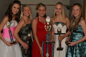 2007 Middle School All American MEREDITH SUBIALKA Dancer's Edge, Minnesota 2 Hailey DeBoer|Champion, SD 3 Tressa Tingle|Champion, SD 4 Morgan Mathias|Homstead HS, WI 5 Alyssa Greene|Wausau East HS, WI