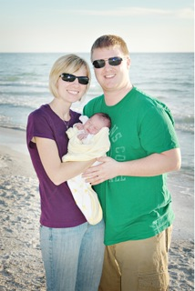 HANNAH - 2nd - Nick, Crystal, and baby HANNAH from Florida