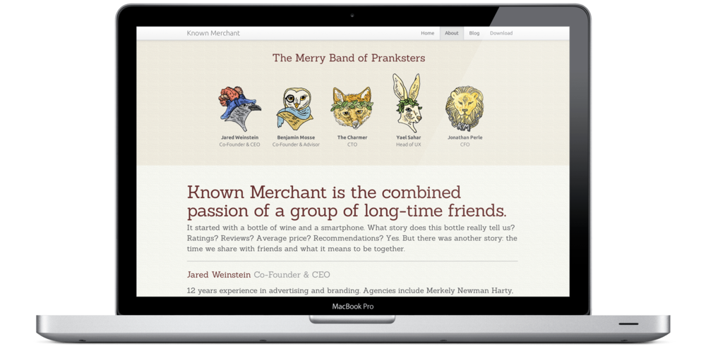 Known Merchant Website