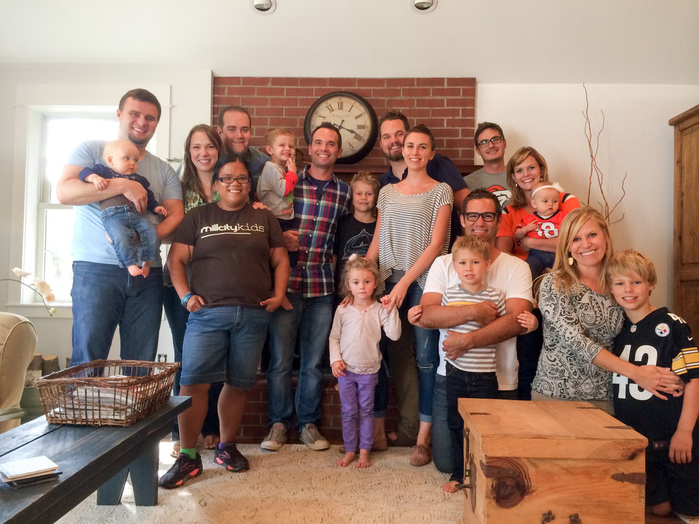 Friends from my MILL days now living in Ft. Collins helping with MILL City Church.