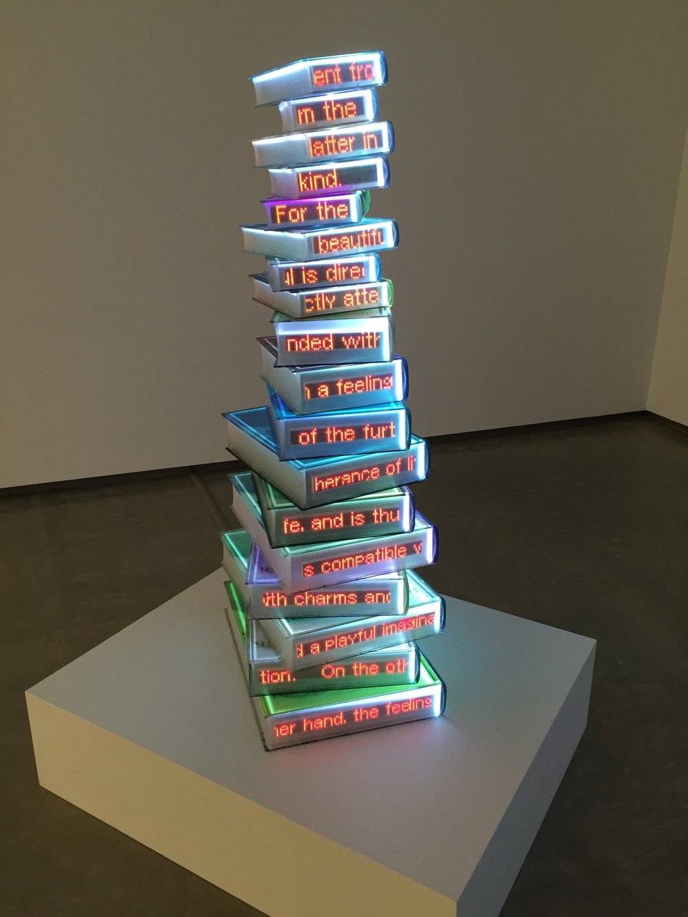 Airan Kang,  The Critique of Judgment 2010,  on display at the Museum of Contemporary Art Australia