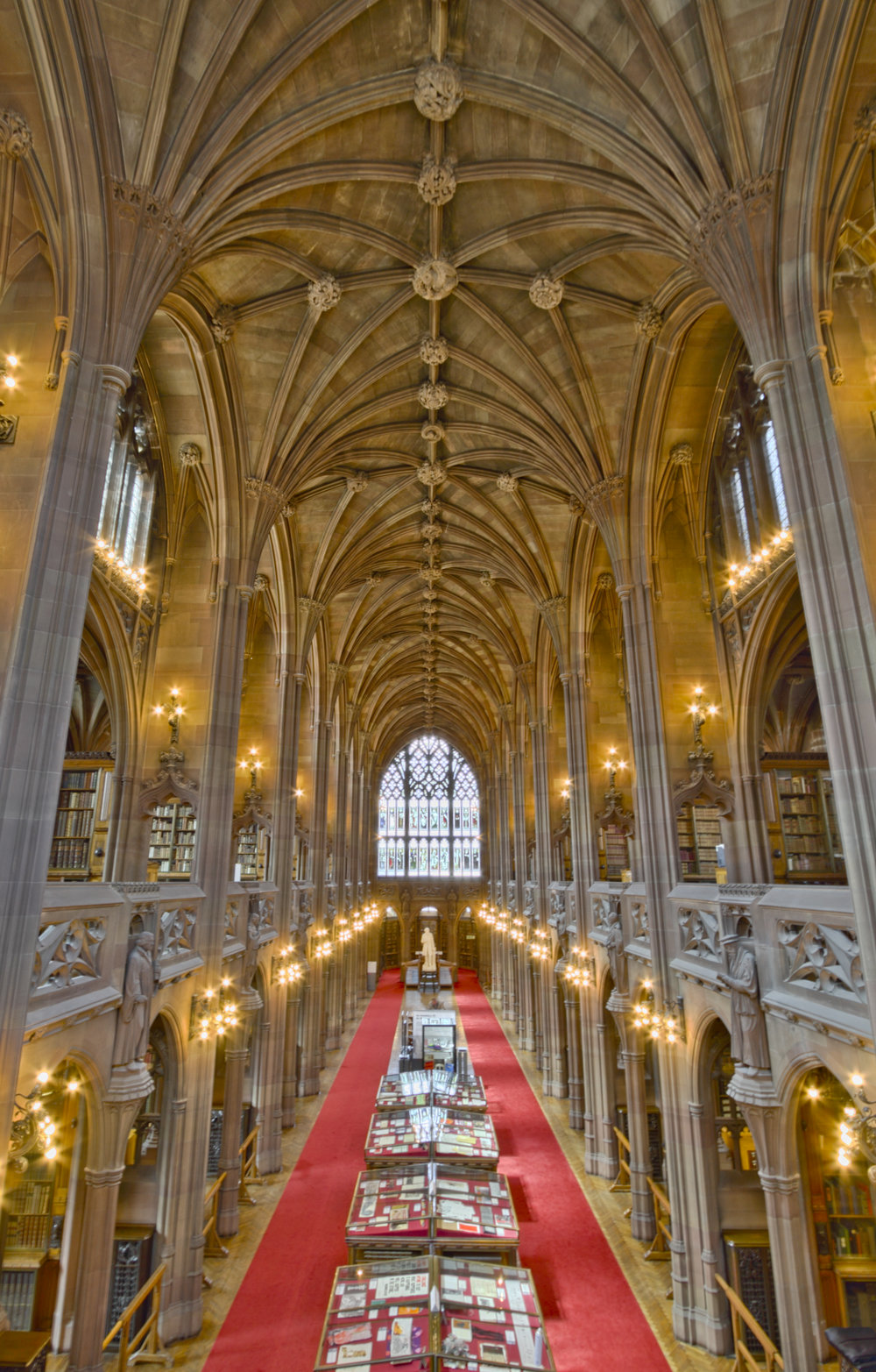 Reading Room of the John Rylands Library