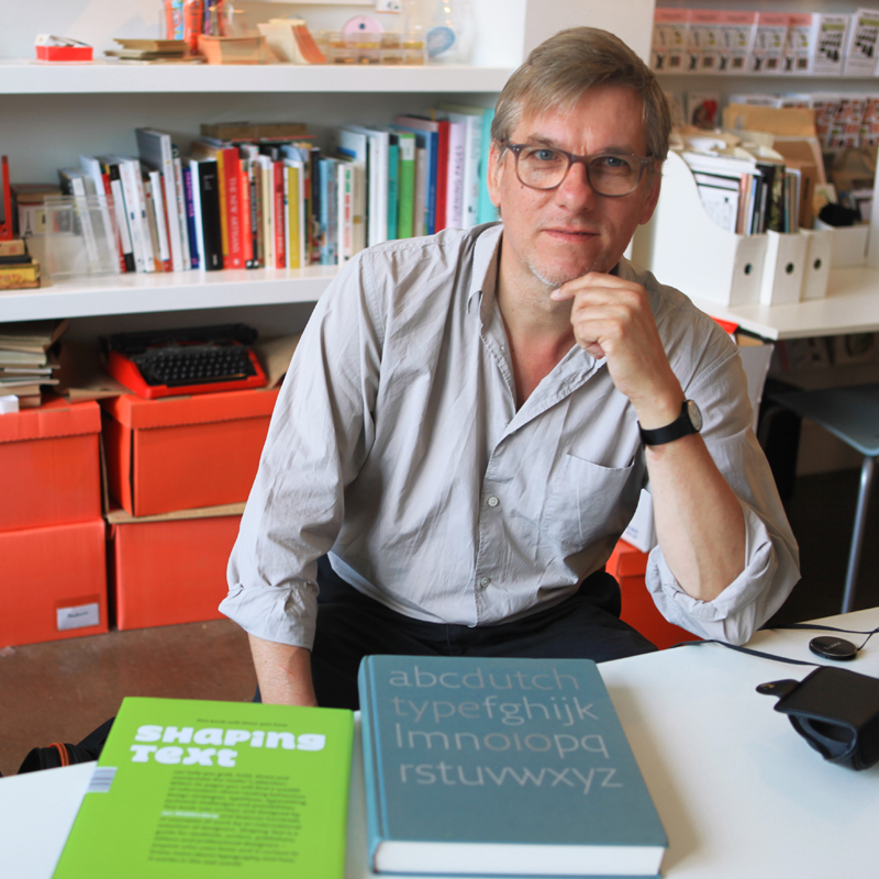 JAN MIDDENDORP VISITS THE UPPERCASE STUDIO, JULY 30, 2012