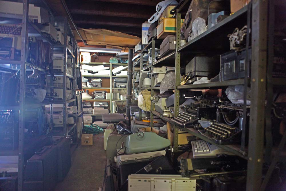 But wait, there's more! A peek into the back room.