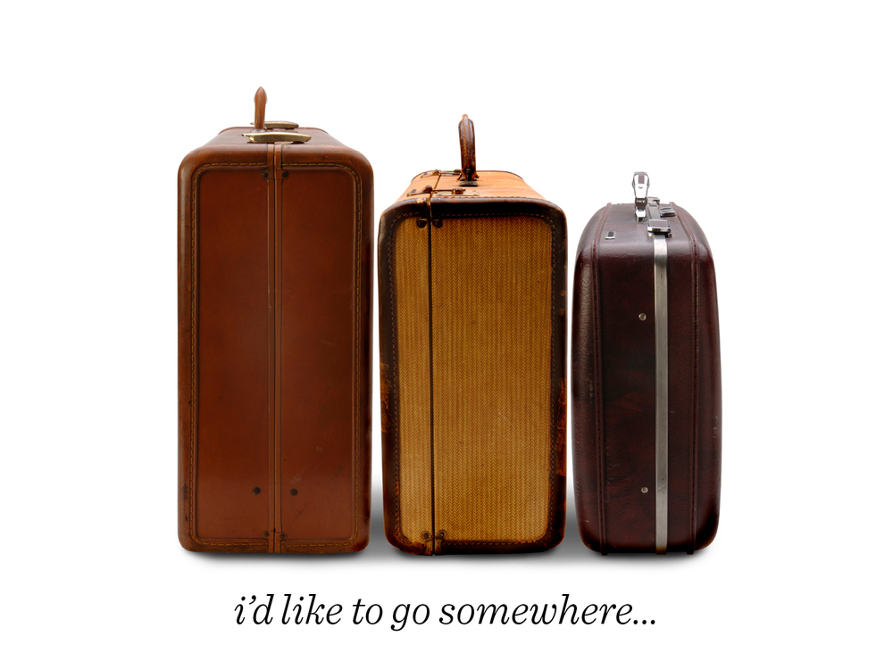 13) Travel is a great way to become inspired, both by seeing new places and experiencing new things, but also when you return home you have greater appreciation for the familiar. I wanted to incorporate more travel in my life, so I came up with The Suitcase Series: