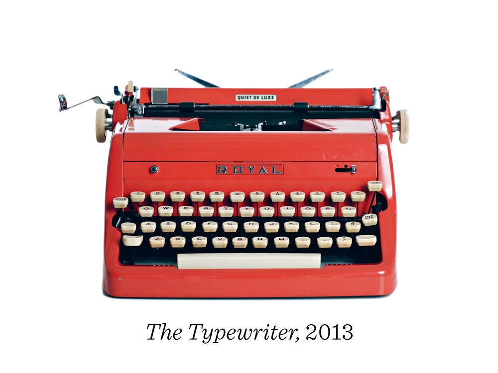 20) And so I am working on a book called The Typewriter: A Graphic History of the Beloved Machine which will be released next year.