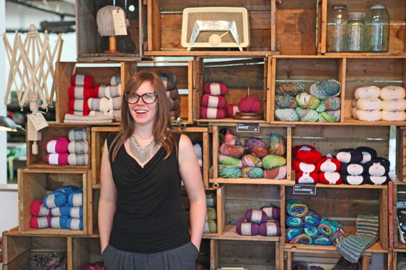 Veronica Murphy, proprietor of Stash Needle Art Lounge in Calgary's Inglewood neighbourhood.